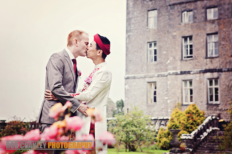 Civil Partnership Gay Wedding Photography Markree Castle Sligo