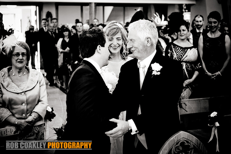 Wedding Photography Sligo Castle Dargan Father of Bride
