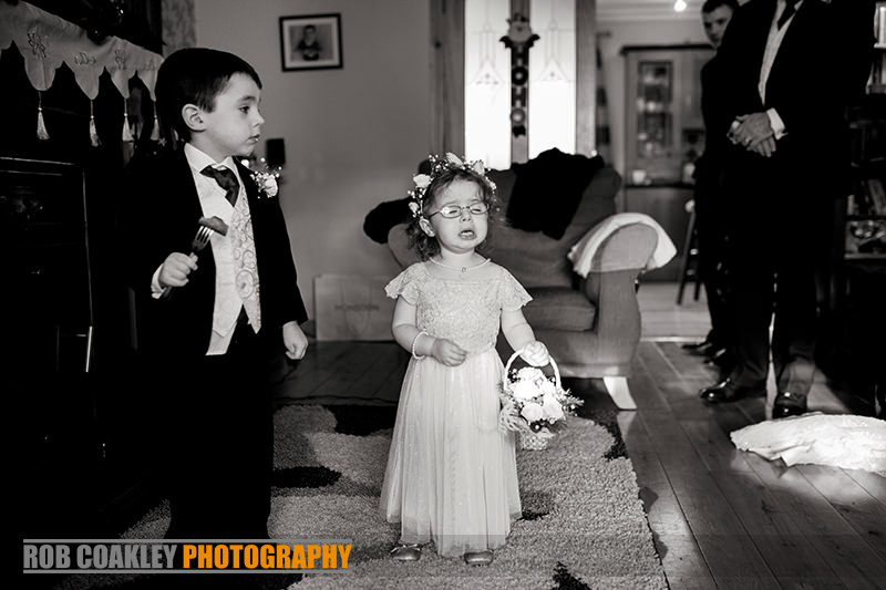 Leitrim Wedding Photography Page Boy Flower Girl