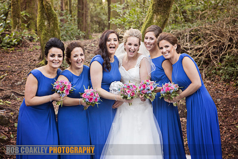 Wedding Photography Bridal Party in Cong woods, lisloughry lodge at Ashfor Castle, Mayo