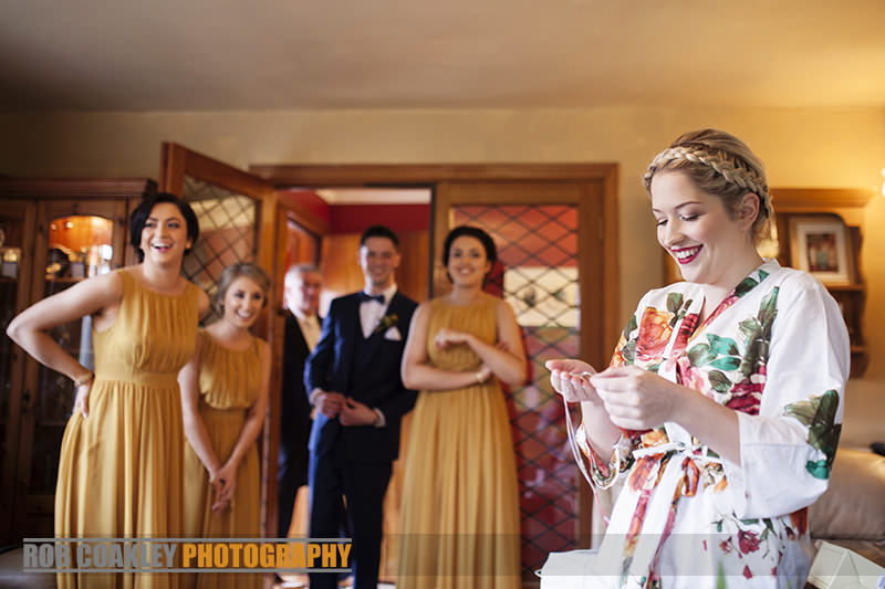 Bridal Preparations Leenane Wedding Photography Mayo