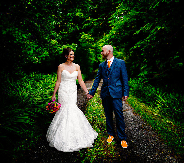Wedding Photography at Nevin's Newfield Inn near Mulranny